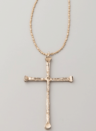 LOW LUV by ERIN WASSON Cross Pendant Necklace