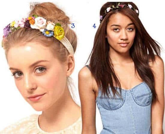 uber cute floral headbands