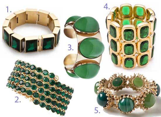 Emerald Green Bracelets