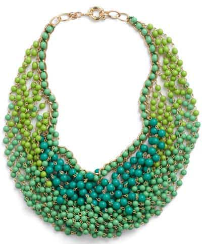 Modcloth Statement of the Art Necklace