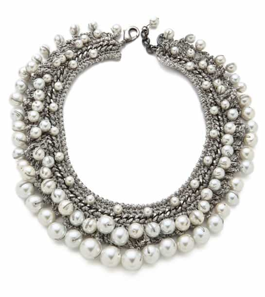 Venessa Arizaga Pearl Necklace
