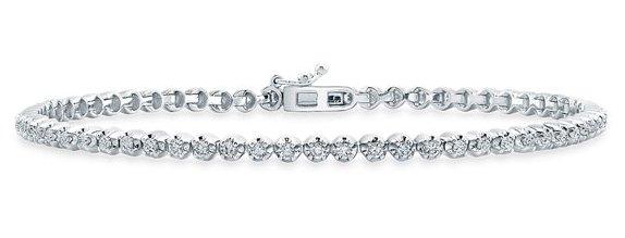 Bony Levy Diamond Line Bracelet