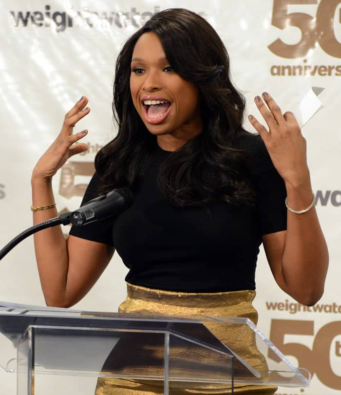 Weight Watchers celebrates it's 50th anniversary with a tribute to it's founder by Jennifer Hudson