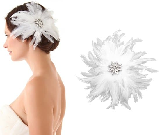 Enchanted Atelier Sophie Plume Hairclip_white