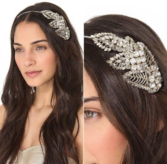 Jenny Packham Acacia Headdress I_silver