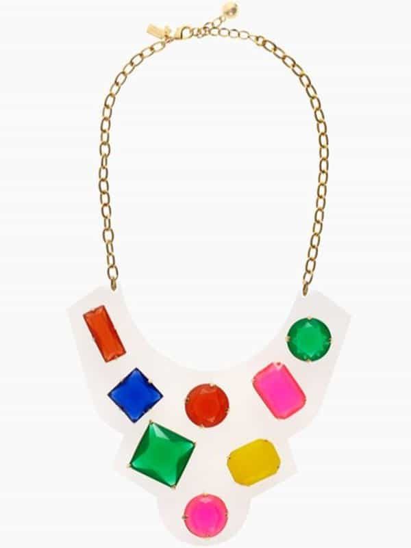 Kate Spade Cameo Jewels Bib Necklace
