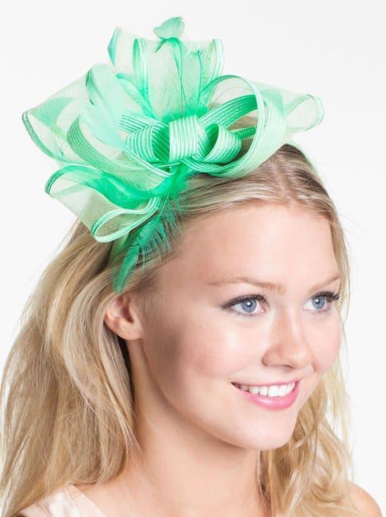 August Hat 'Onyx' Fascinator