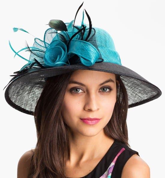 August Hat 'Ruby' Derby Hat