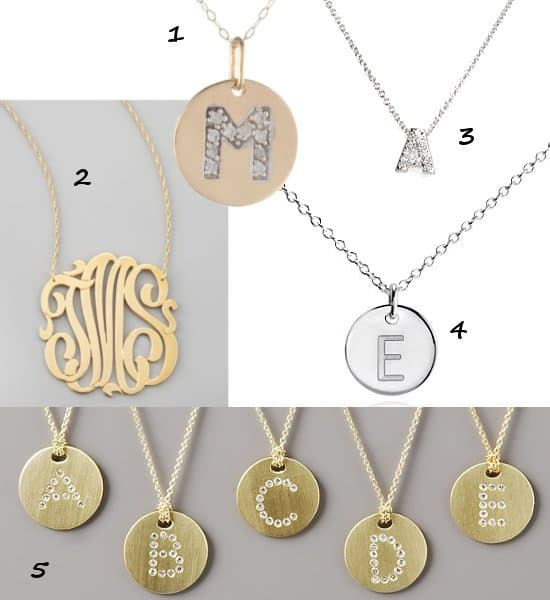M Stands for Miley: The Pop Star Wears Initial Jewelry
