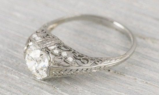 Vintage Diamond Engagement