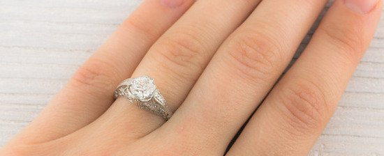 8mm Wedding Ring 68 Amazing Vintage Diamond Engagement