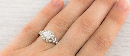 uropean Cut Diamond  2