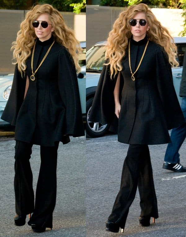 Lady Gaga in Manhattan3