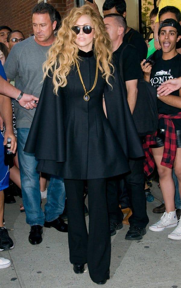 Lady Gaga in Manhattan4