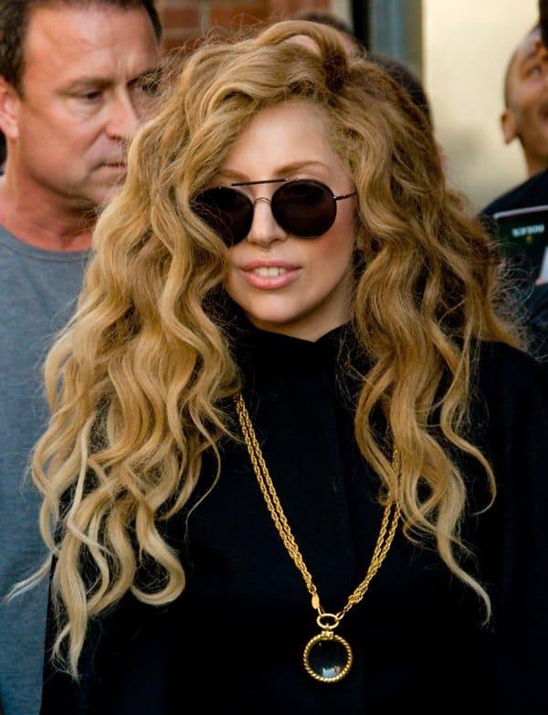 Lady Gaga in Manhattan5
