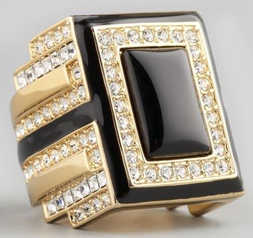 Rachel Zoe Art Deco Ring
