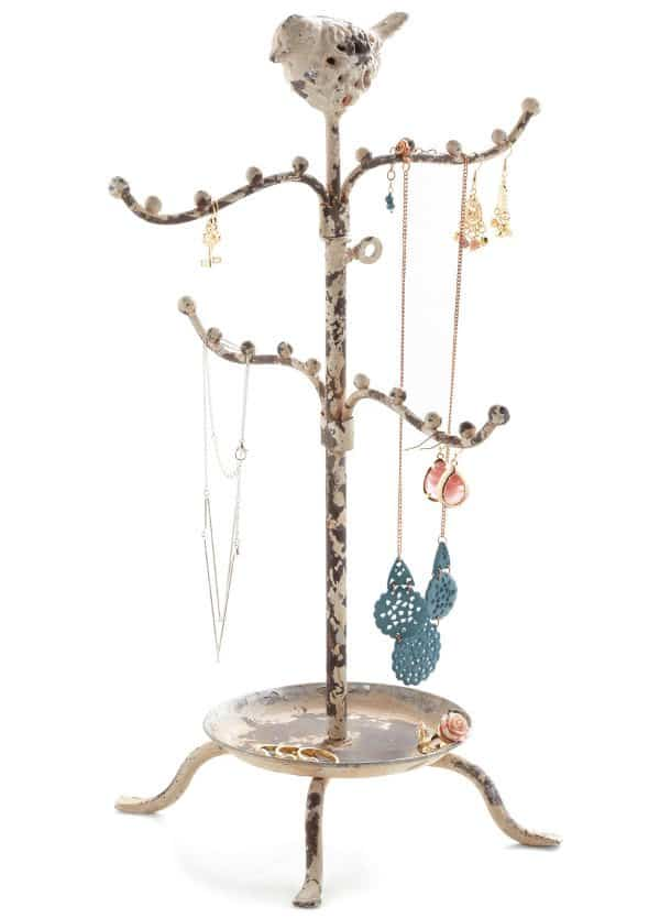 Perch High and Low Jewelry Stand