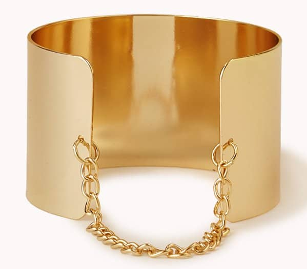 Forever21 Chained Metal Cuff