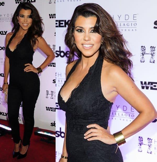 Kourtney Kardashian Hosts Labor Day Bash