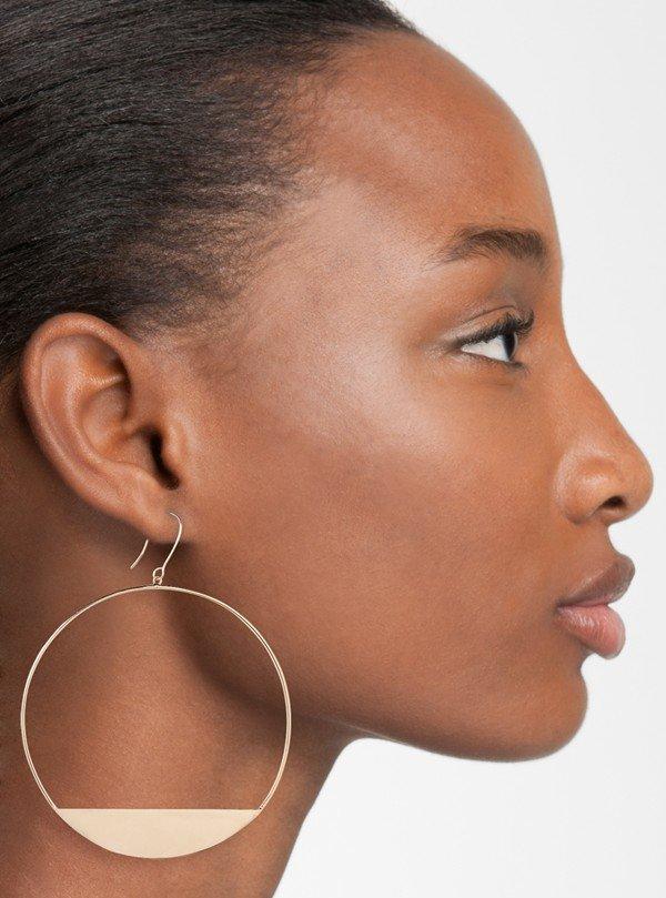 Lana Jewelry Large Eclipse Earrings