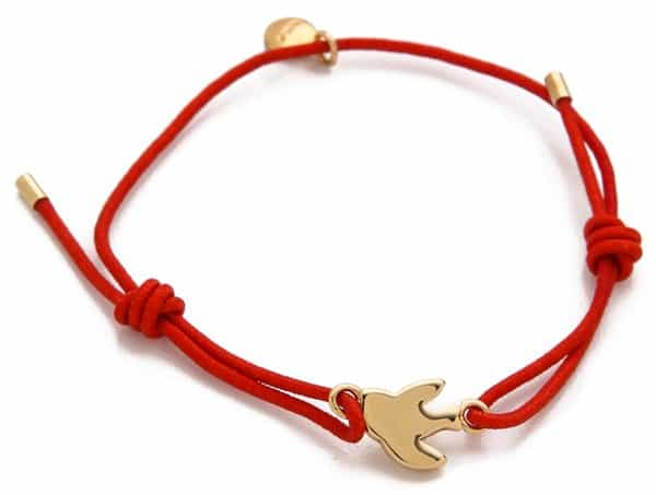 Marc by Marc Jacobs Bird Friendship Bracelet