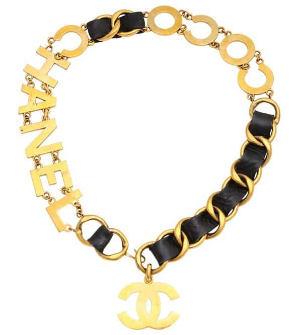 Vintage Chanel - Coco Chanel Motif Belt / Necklace