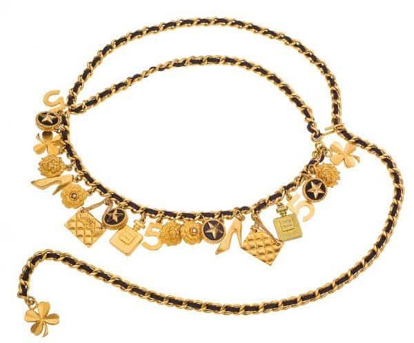 VIntage Chanel - Iconic Motif Belt / Necklace