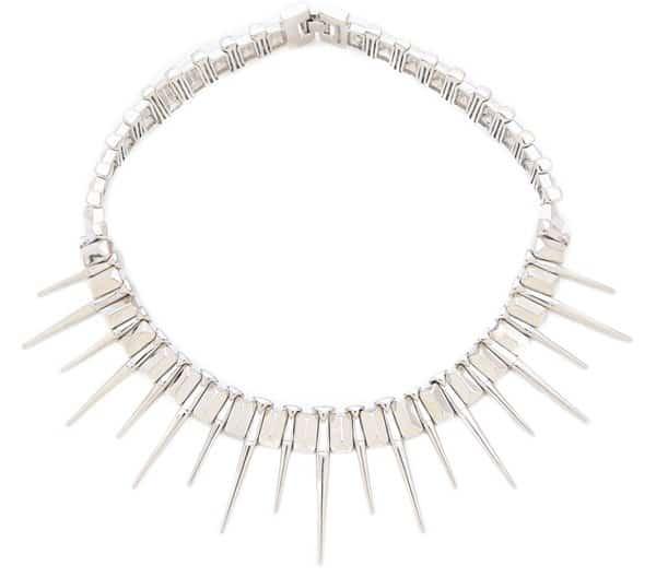 Rebecca Minkoff Spike Collar Necklace