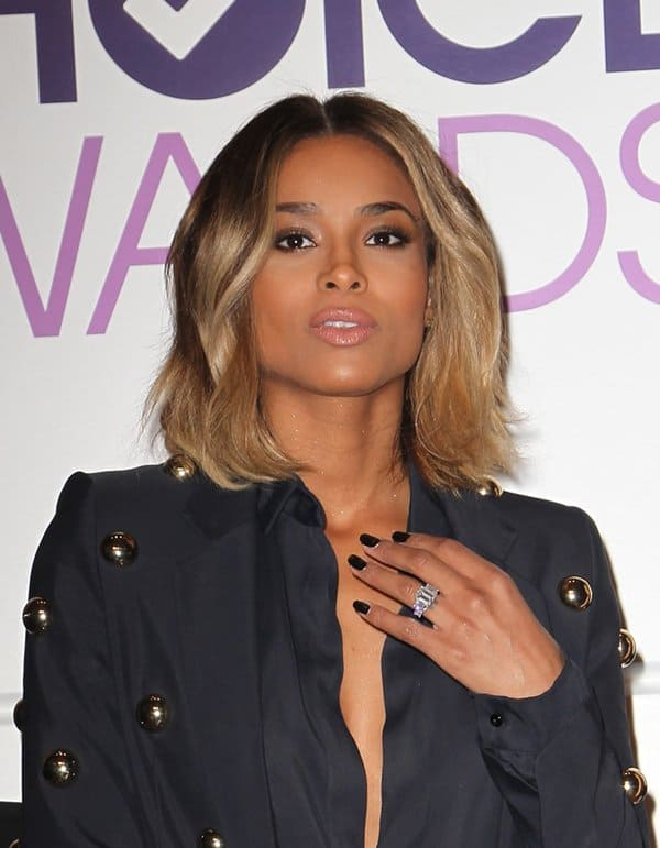 Ciara at the announcement of nominees for the 40th Annual People's Choice Awards in Los Angeles on November 5, 2013