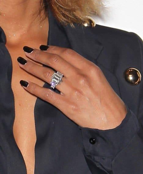 Ciara's 15-karat engagement ring