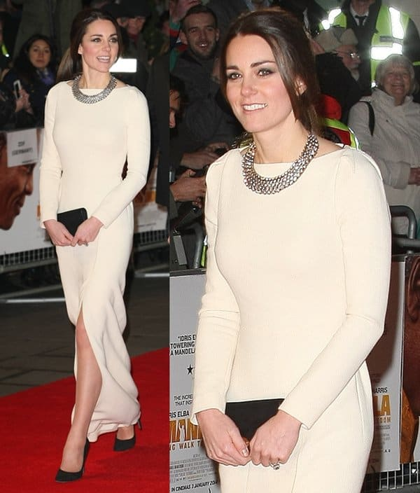Kate Middleton came out in a recycled Roland Mouret dress
