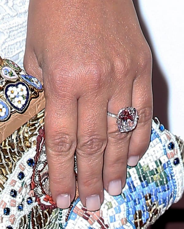 Kim Kardashian's engagement ring