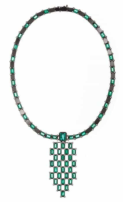 Wilfredo Rosado Green Rhythm Necklace