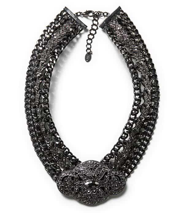 Zara Brooch Clasp Necklace