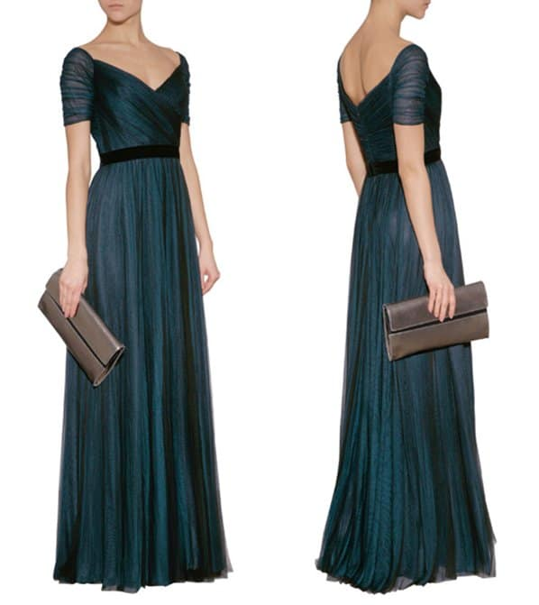 Jenny Packham Silk Gown3