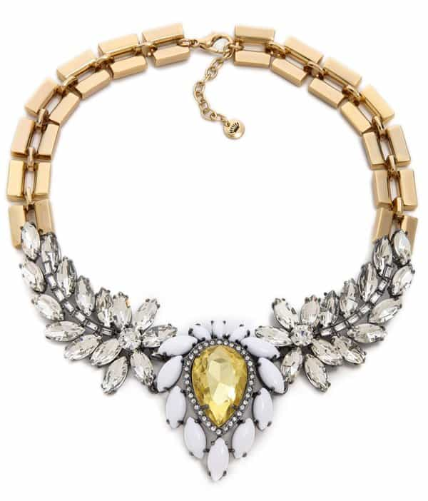 Juicy Couture Brillliant Blooms Gemstone Drama Necklace