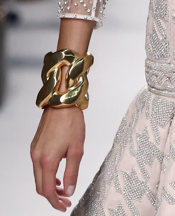 Oversized Jewelry Balmain Bracelet