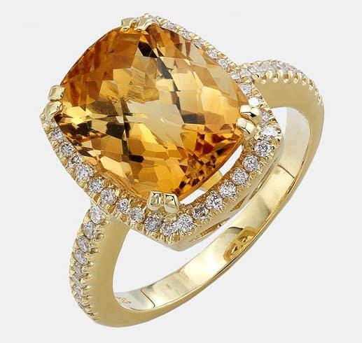 Bony Levy Semiprecious Stone & Diamond Ring