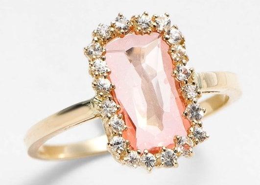 KALAN by Suzanne Kalan Barrel Stone Ring