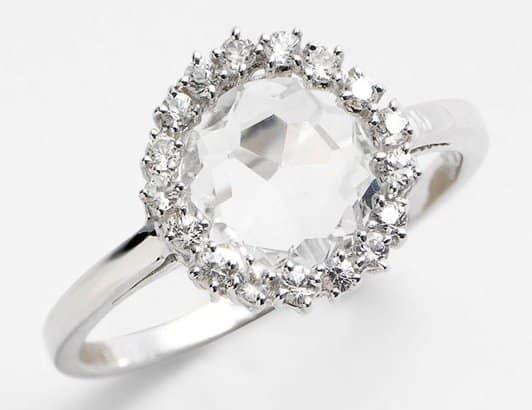 KALAN by Suzanne Kalan 'Starburst' Round Bezel Ring