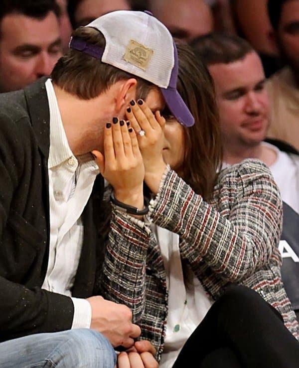 Mila Kunis Engaged2