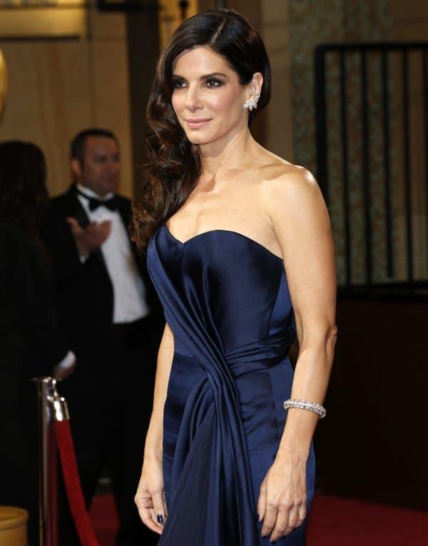 Oscar Jewelry Sandra Bullock
