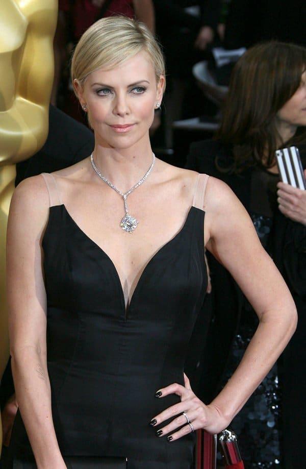 Oscars Charlize Theron