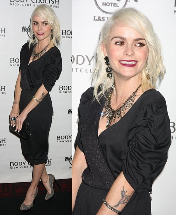 Taryn Manning Statement Necklace5