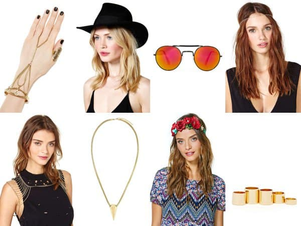 Festival Accessories from NastyGal