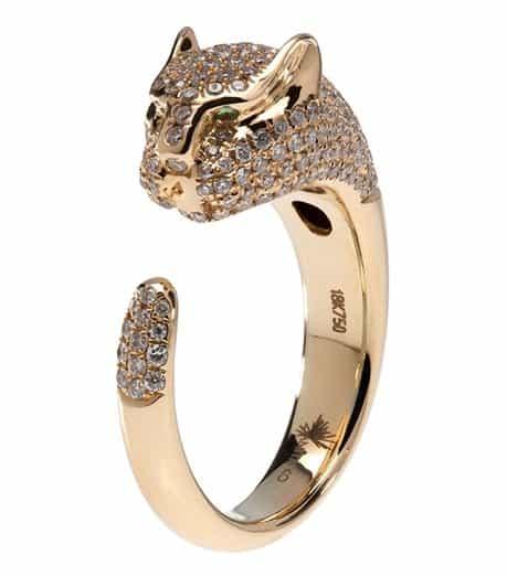 Anita Ko Pave Panther Ring