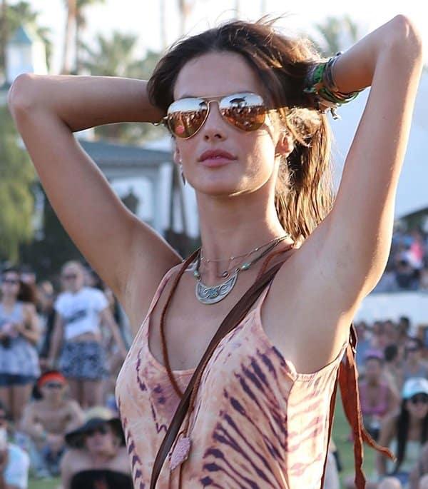 Coachella Jewelry Alessandra Ambrosio
