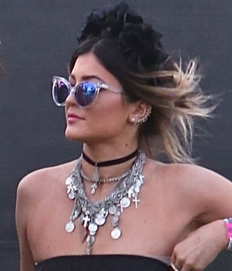 Coachella Jewelry Kylie Jenner