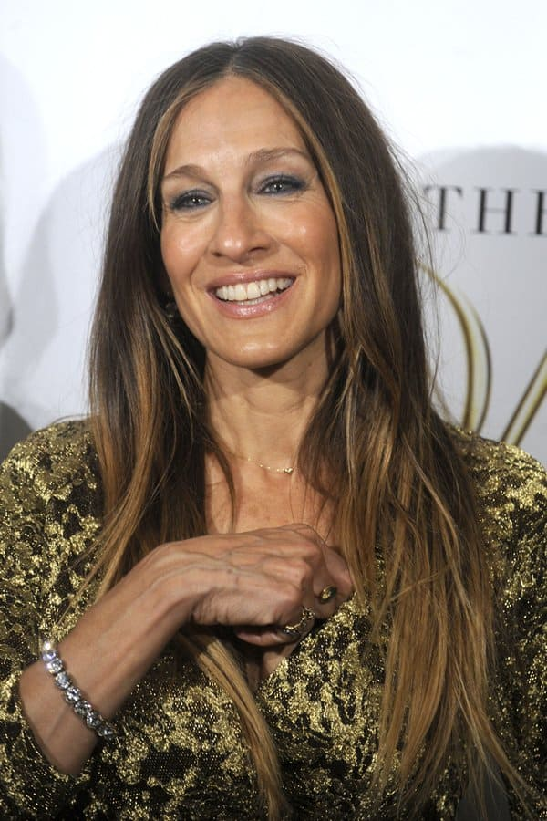 Sarah Jessica Parker at the 2014 DVF Awardsheld at the United Nations in New York City onApril 4, 2014