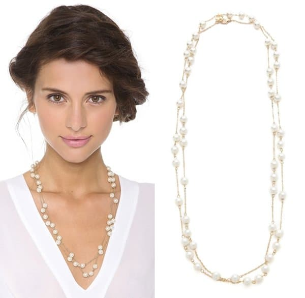 Juliet & Company Long Pearl Wrap Necklace3
